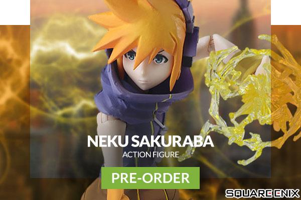 Neku Sakuraba Action Figure (Square Enix)