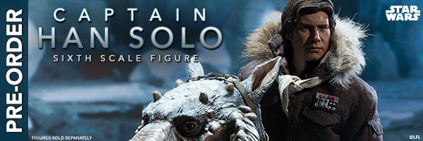 Captain Han Solo Hoth Sixth Scale Figure