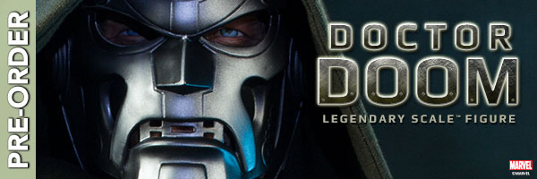 Pre-Order the Doctor Doom Legendary Scale Figure