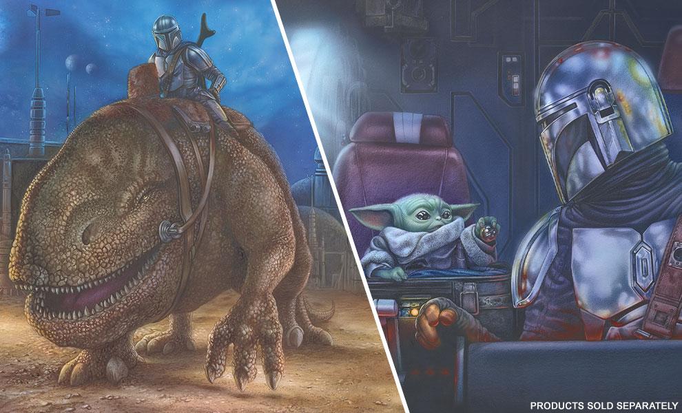 NEW Star Wars Art Prints from Thomas Kinkade Studios