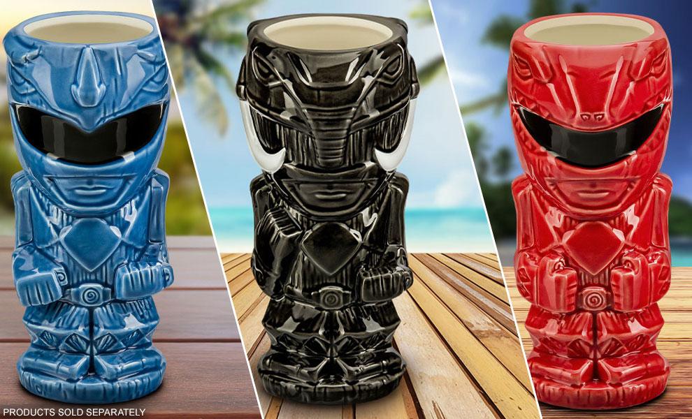 NEW Power Rangers Tiki Mugs by Beeline Creative