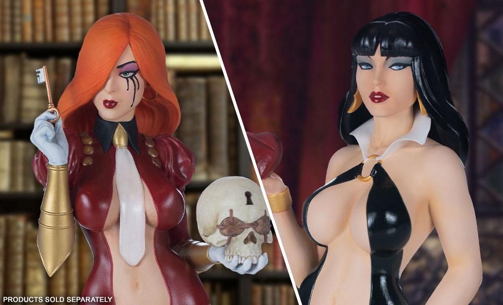 Dawn & Vampirella Busts by Dynamite Entertainment