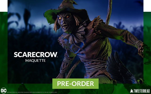 Scarecrow Maquette by Tweeterhead