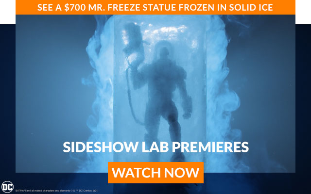 See a $700 Mr. Freeze Statue Frozen in Solid Ice