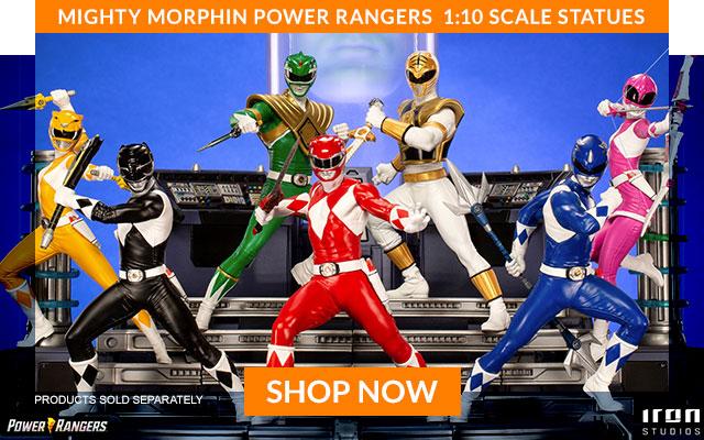 Mighty Morphin Power Rangers by Iron Studios