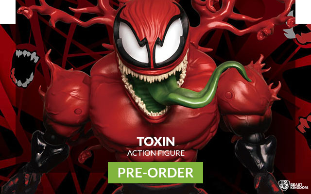 Toxin Egg Attack Action Figure (Beast Kingdom)