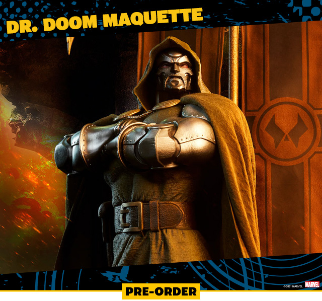 Dr. Doom Maquette