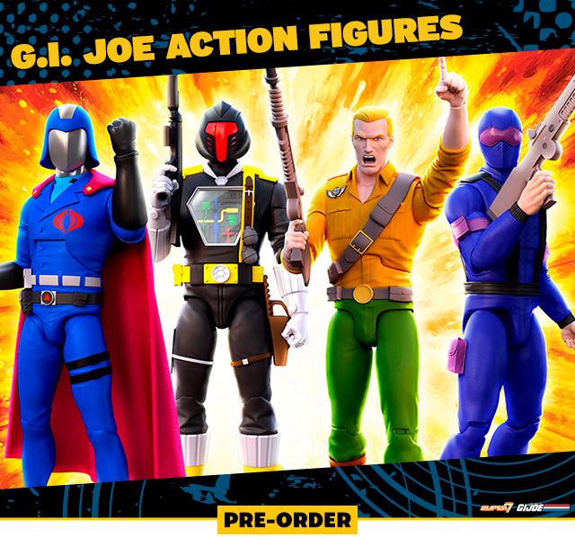 G.I. Joe Action Figures by Super 7