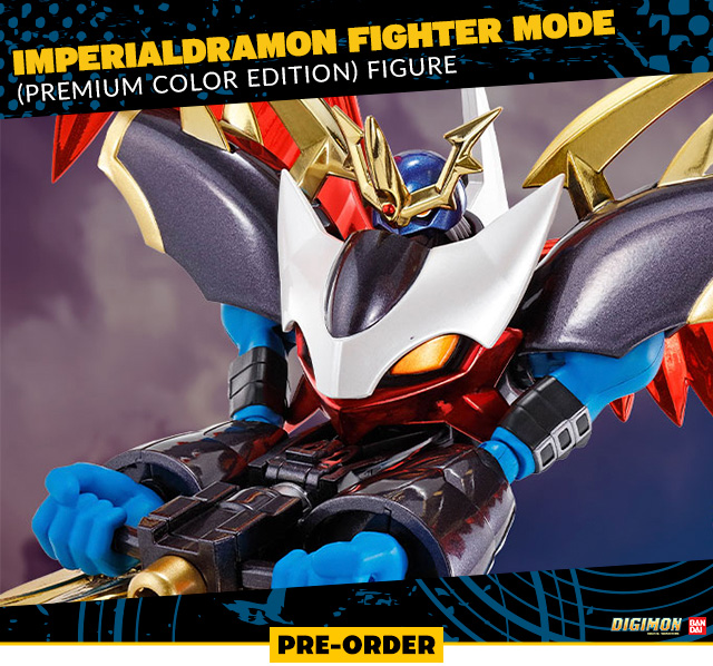 Imperialdramon Fighter Mode (Premium Color Edition) Figure by Bandai