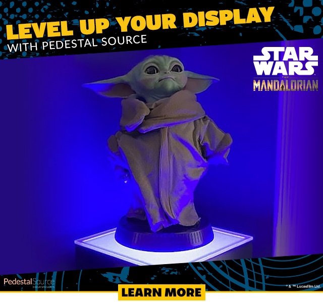 Pedestal Source Level Up Your Display
