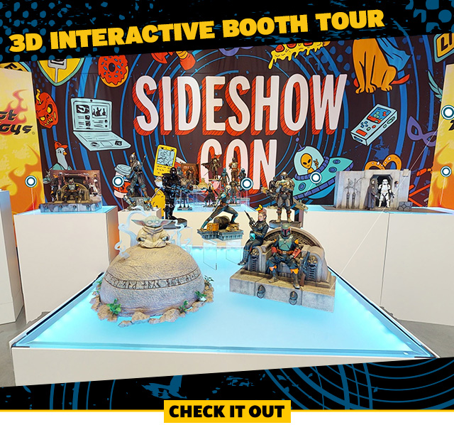 Sideshow Con 2021 3D Interactive Booth Tour