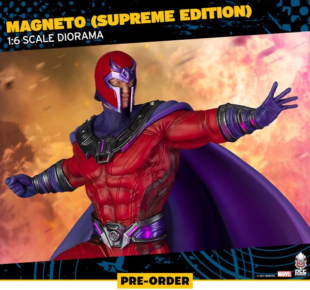 Magneto (Supreme Edition) 1:6 Scale Diorama by PCS