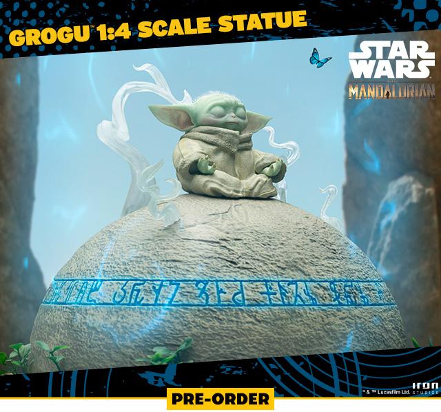Grogu™ 1:4 Scale Statue (Iron Studios)