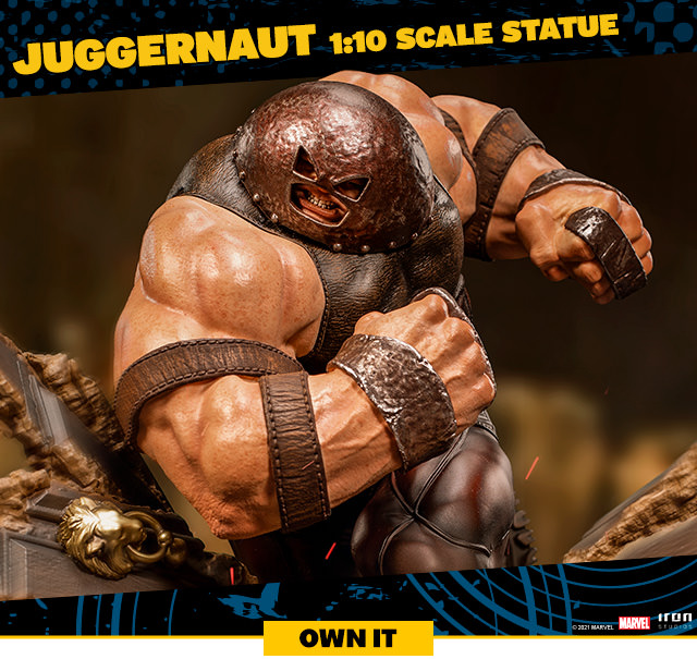 Juggernaut Scale Statue