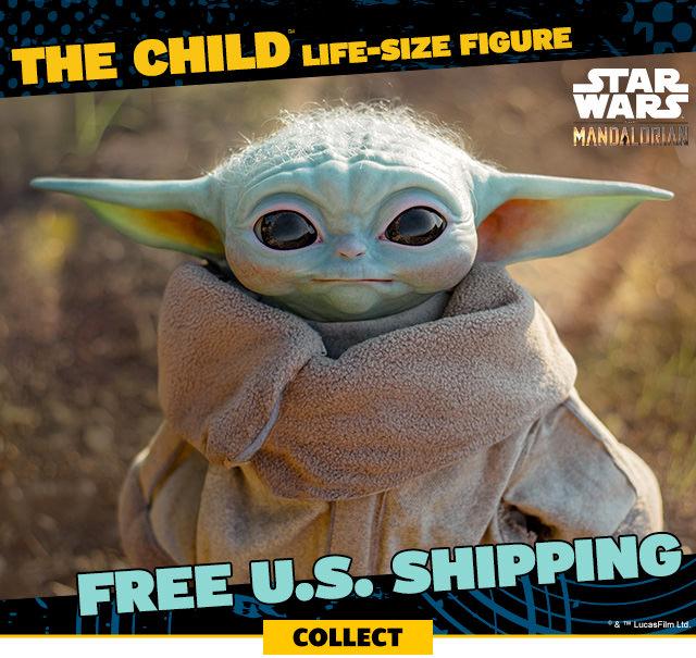 FREE U.S. SHIPPING - The Child Life-Size Figure