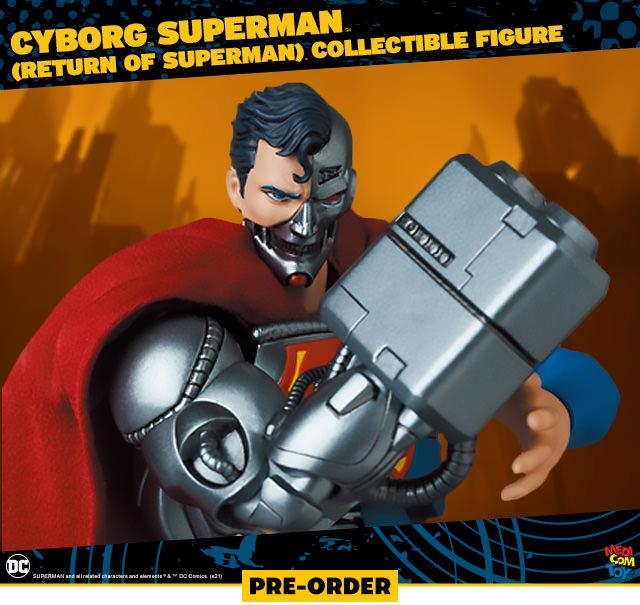 Cyborg Superman (Return of Superman) Collectible Figure (Medicom Toy)