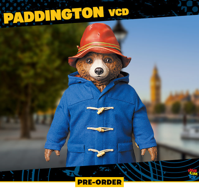 Paddington VCD (Medicom Toy)