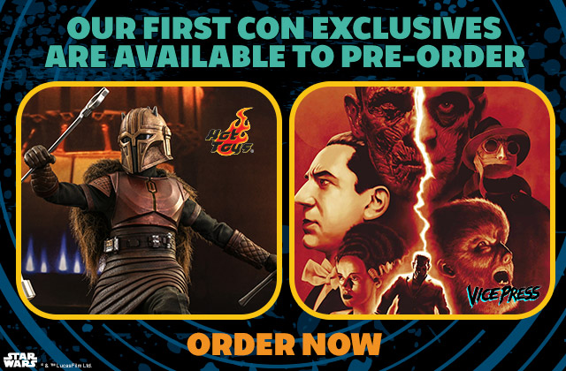 Sideshow Con Exclusives