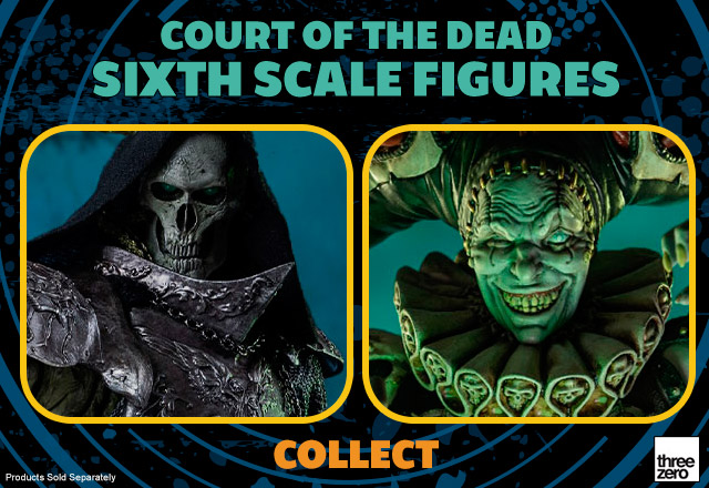 Court of the Dead Sixth Scale Figures