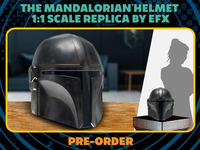 The Mandalorian Helmet Replica by EFX
