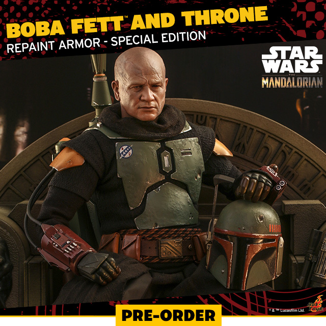 Boba Fett and Throne (Repaint Armor - Special Edition)