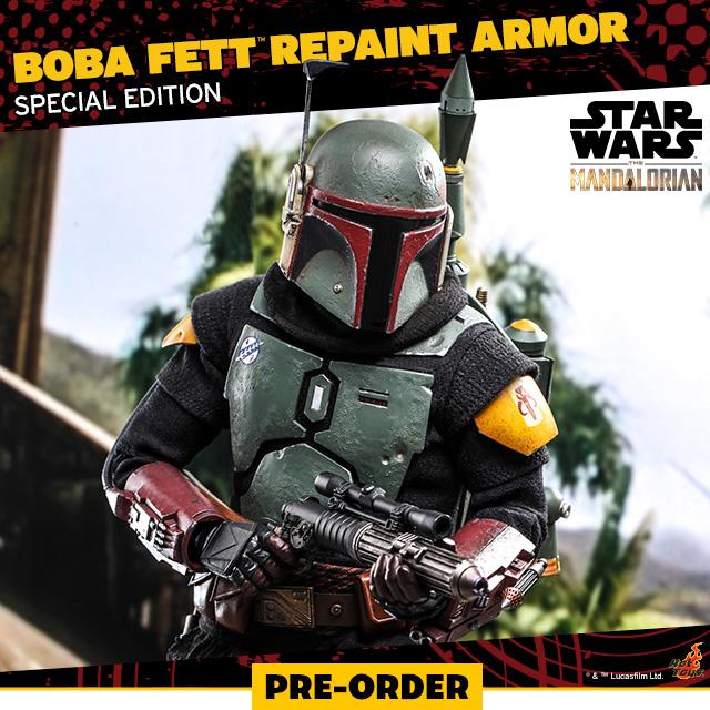 Boba Fett (Repaint Armor - Special Edition)