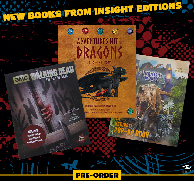 New Books from Insight Editions