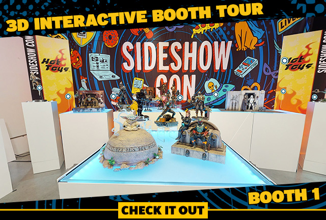 Sideshow Con 2021 3D Interactive Booth Tour – Booth 1