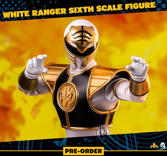 White Ranger Sixth Scale Figure by Threezero