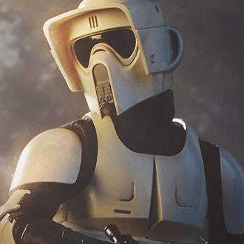 Scout Trooper Collectible