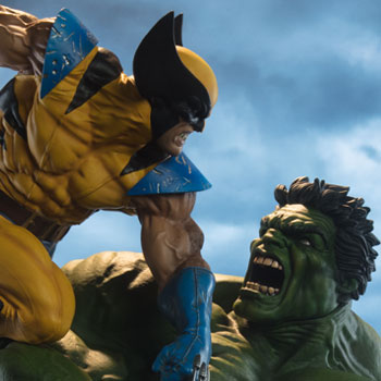 Hulk and Wolverine Collectible