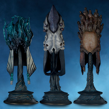 The Aspects of Death Mask Collectible Set by Sideshow Collectibles