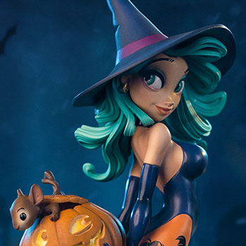 Pumpkin Witch Collectible