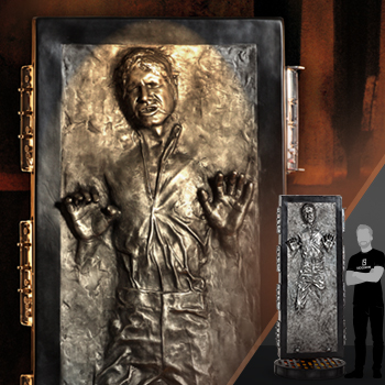 Han Solo in Carbonite Collectible