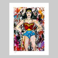 Golden Age Wonder Woman Fine Art Print Giveaway