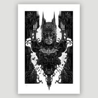 Batman Fine Art Print by Nekro XIII Giveaway