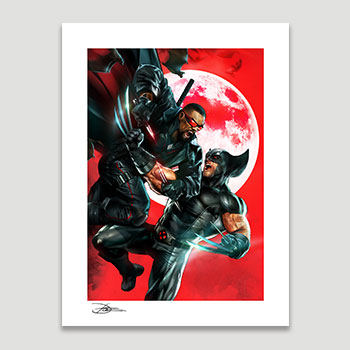 Wolverine vs Blade Collectible