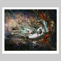The Queen's Embrace Variant Fine Art Print Giveaway