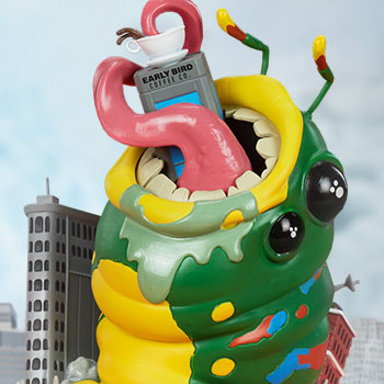 Wrath of Wormzilla! Collectible