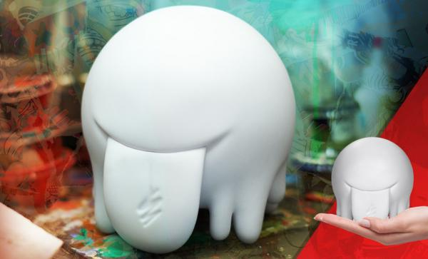 Splotch (Blank Edition) Designer Collectible Toy