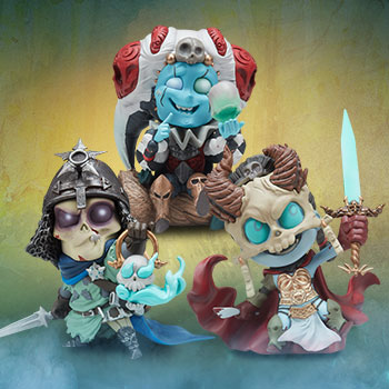 Kier, Relic Ravlatch, & Malavestros: Court-Toons Collectible Set Collectible