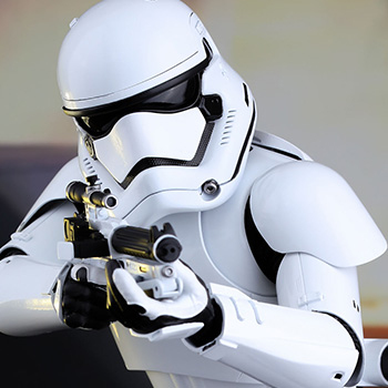 Hot Toys First Order Stormtrooper Collectible