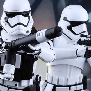 Hot Toys First Order Stormtroopers Collectible