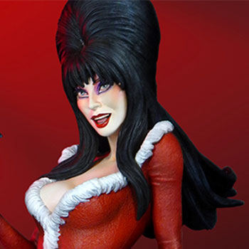 Elvira Scary Christmas Maquette