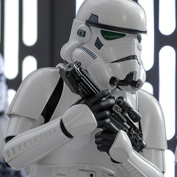 Hot Toys Stormtrooper Deluxe Version Collectible