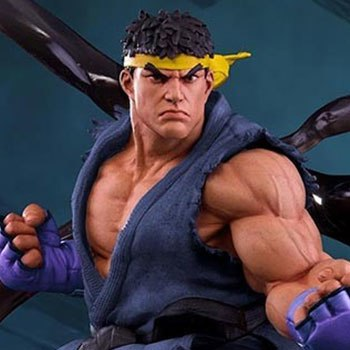 Ryu V-Trigger Player 2 Blue Collectible