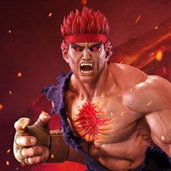 Evil Ryu Murderous Intent Collectible