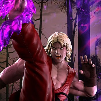 Ken Masters Violent Ken with Dragon Flame Collectible