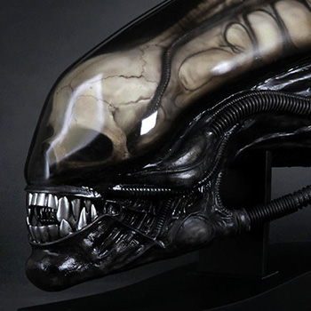 Gigers Alien Life-Size Head Collectible
