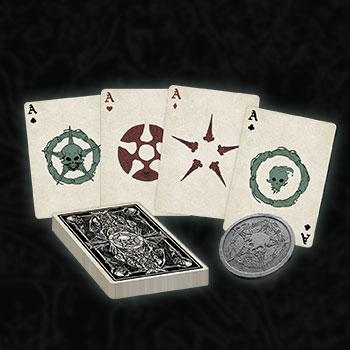 Court of the Dead Playing Card Set Collectible